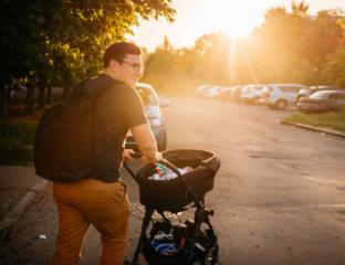 bolsa de bebê