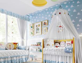 quarto de bebê toy story