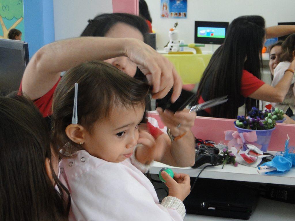 cabelo das crianças