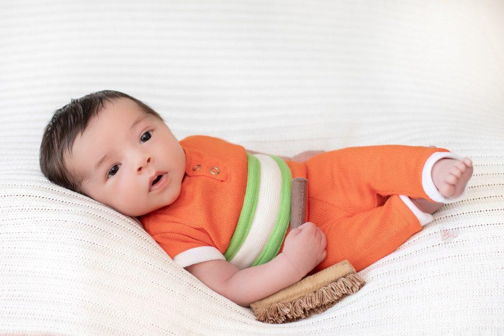 ensaio com bebês